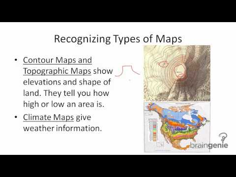 Reading a Map - Recognizing Types of Maps
