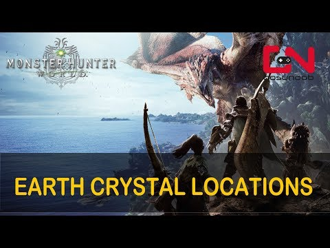 Monster Hunter World Earth Crystal Locations - Where to find in Wildspire Waste