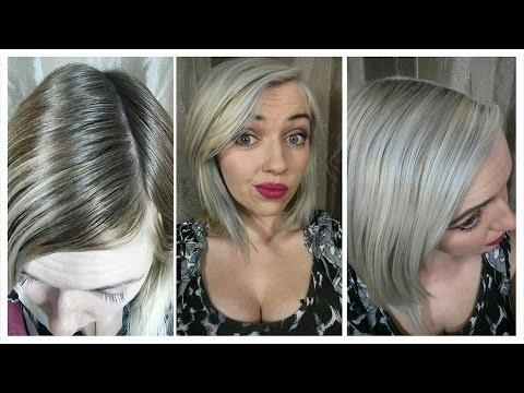How i got platinum silver hair | Bleach bath | green/orange colour correction | IdleGirl