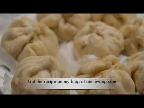 How to make homemade chinese pork steam buns