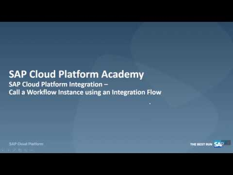 SAP Cloud Platform Integration:  Call a workflow instance using Integration Flow