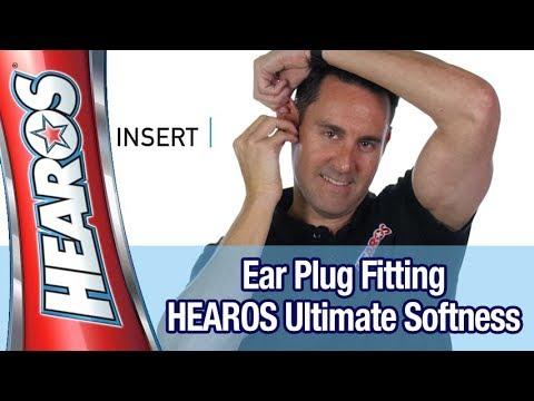 Easiest Foam Ear Plug Fitting Instructions - HEAROS Ultimate Softness Series