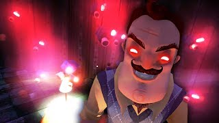 THE NEIGHBOR HAS EYES EVERYWHERE!!! (Hello Neighbor Gramophone / Beta 3)