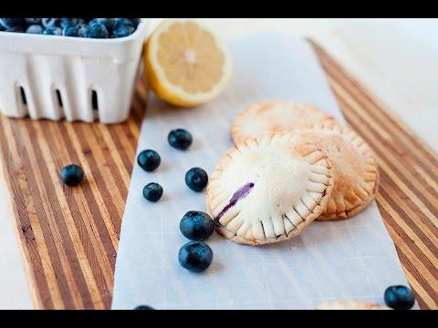 Lemon Blueberry Hand Pies   Blueberry Empanadas