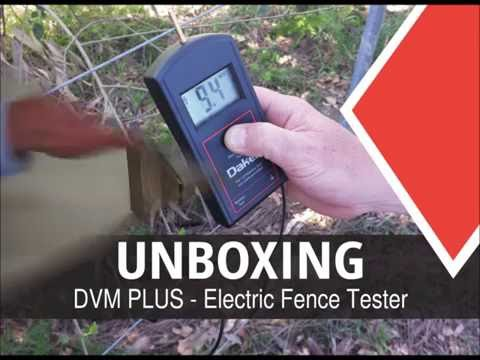 DVM PLUS - Electric fence tester unboxing and demonstration