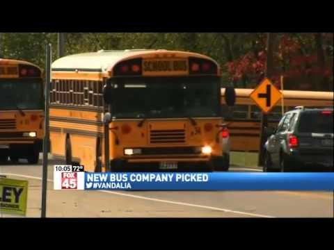 Vandalia-Butler School District Outsourcing Bus Contract for