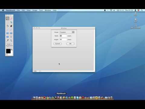 Mac OSX - Paintbrush - A Paint Alternative for Mac!