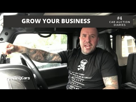 Growing Your Car Business by Outsourcing - The Car Auction Diaries #4
