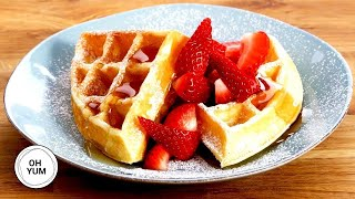 How to Make the BEST Buttermilk Waffles for Breakfast