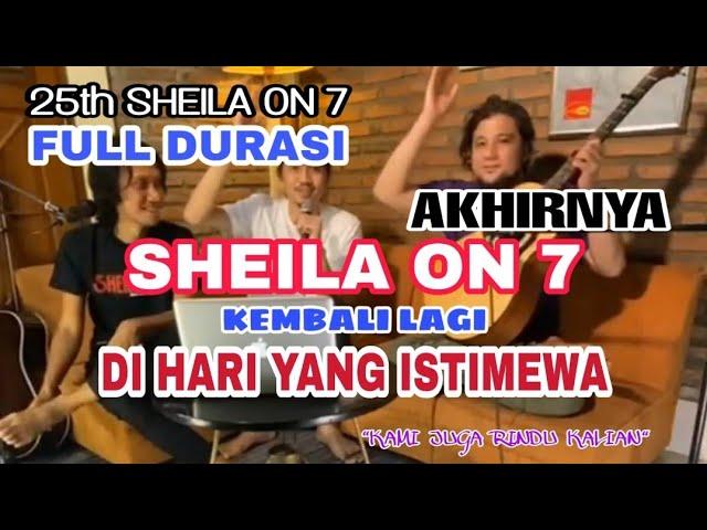Download SHEILA ON 7 is BACK!! MENGOBATI KERINDUAN SHEILAGANK TEPAT di 25Tahun SHEILA ON 7. RINDU TEROBATI❤ MP3 Gratis