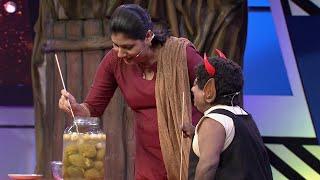 Kusruthi Kudumbam | Collect Gooseberries from the ceramic pot ! | Highlights