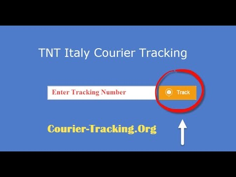 TNT Italy Courier Tracking Guide