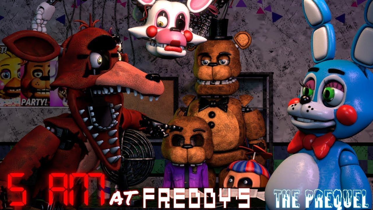 Download [FNAF/SFM] 5 AM at Freddy's: The Prequel (FNAF 2 Anniversary!) MP3 Gratis
