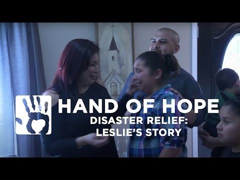 Disaster Relief - Leslie's Story
