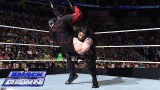 Roman Reigns vs. Kane: SmackDown, June 27, 2014