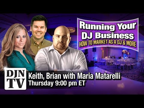 Maria Matarelli On Branding For DJs | Running Your DJ Business with KC and Brian B #DJNTV Episode 20