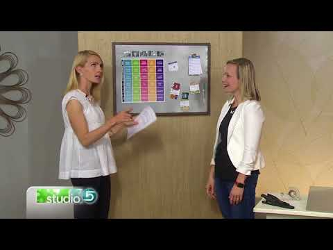 Teach your kids to work with this easy chore chart on KSL Studio 5