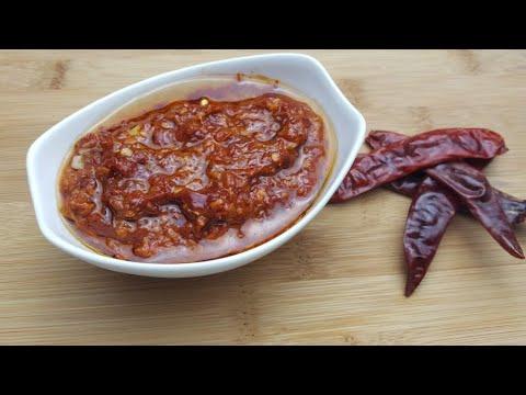 Schezwan sauce recipe | How to make szechuan sauce | Chinese chili Sauce