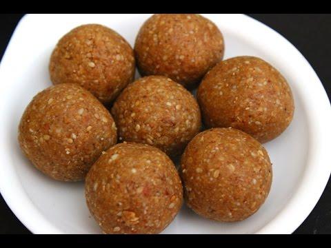 Peanut and sesame seeds laddu