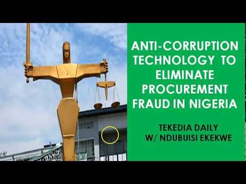 Anti-Corruption Technology To Eliminate  Procurement Fraud In Nigeria