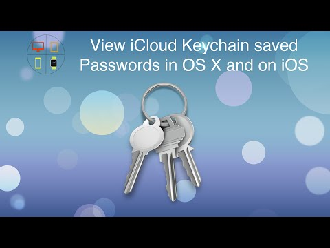 Quicktip: View iCloud Keychain saved Passwords in OS X and on iOS
