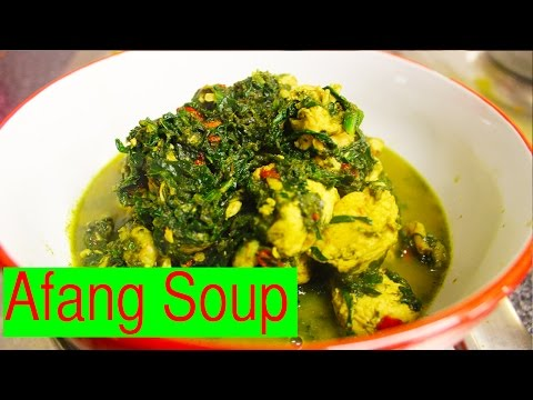 Afang Soup | How To Make Nigerian Afang Soup