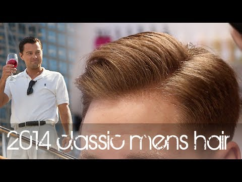 The Wolf of Wall Street Hairstyle | New Classic Men's Hair Tutorial | Leonardo DiCaprio