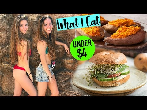 WHAT I EAT VEGAN On $3 per day - Cooking On a Budget
