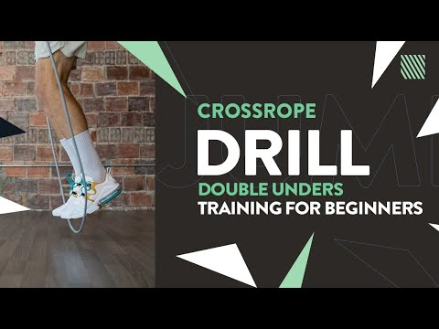 Double Under Jump Rope Drills for Beginners [Crossrope]