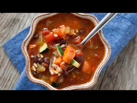 Mexican Bean and Vegetable Soup