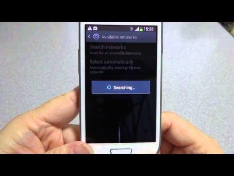 SIM Unlock Galaxy s3mini