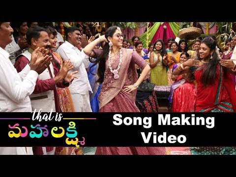 That is Mahalakshmi Wedding Song Making || Tamanna || Telugu small Tv