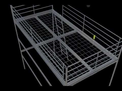 Ikea Svarta Bunk Bed For 159 Wrought Iron Beds Ikea