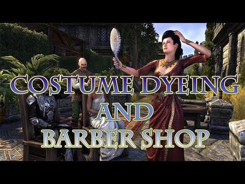 ESO: Costume Dyeing and Barber Shop on PTS!