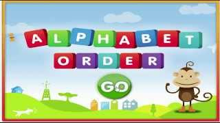 ABC Pre K  Kid Learning Alphabetical Order ABC