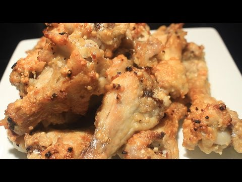 Garlic and Parmesan Baked Chicken Wings ~ Easy ~