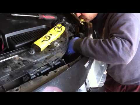 Renault megane headlight indicator install