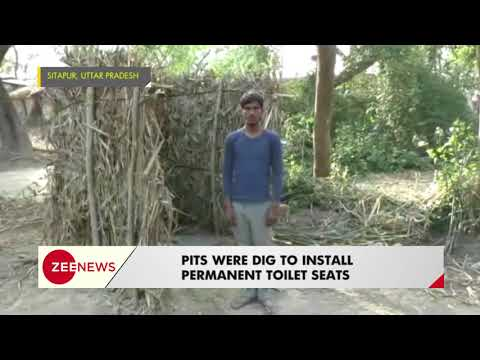 Sitapur, UP: Villagers build 100 toilets without government funds