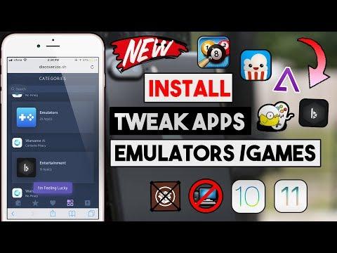 New Get Tweak ++ Apps / Emulators/ Movie Apps Free (NO JAILBREAK/PC) iOS 10/11/11.4 iPhone/iPod/iPad
