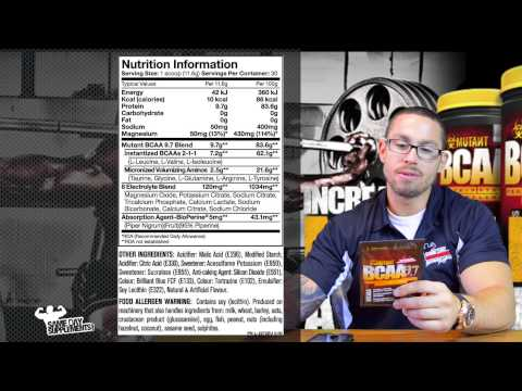 Mutant BCAA 9.7 Review Amino Acids