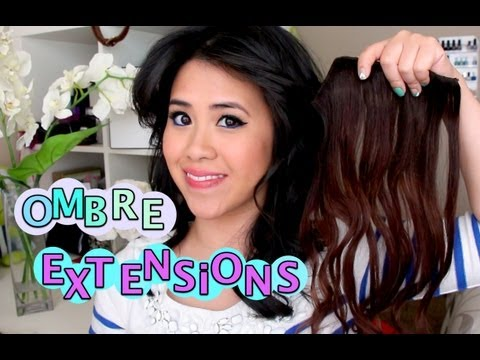 Ombre Hair Extension Review & Tutorial