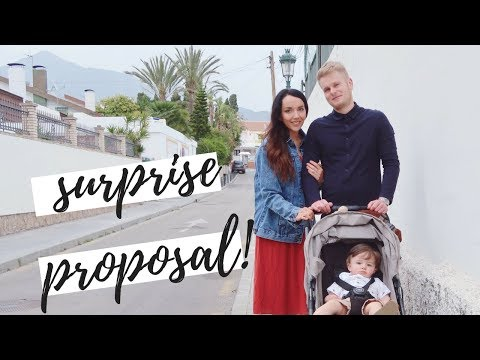 THE SURPRISE PROPOSAL VLOG! | HOLIDAY VLOG #1 NERJA SPAIN | MAISY MEOW