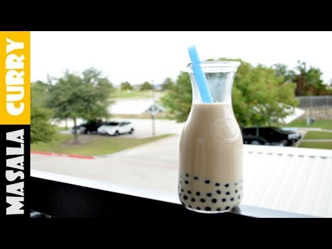 [EASY HOMEMADE] Bubble Tea | Boba Milk Tea | Chinese Milk Bubble Tea