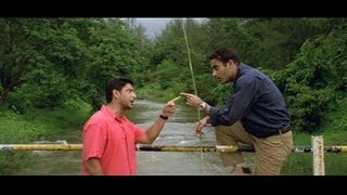 Funny scene - Arshad Warsi informs Akshaye Khanna that Paresh Rawal is already married (Hulchul)