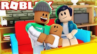 ADOPTING A BABY IN ROBLOX