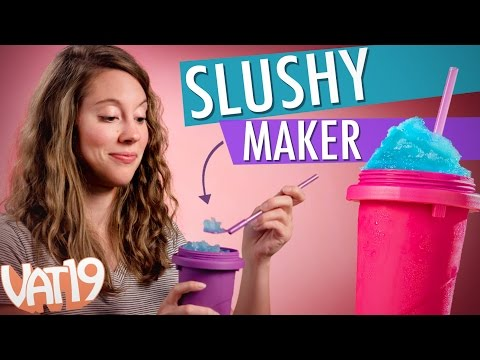 Make a slushy in less than a minute!
