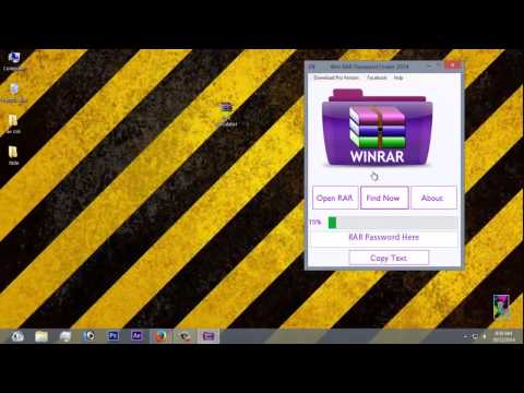 Winrar Password Remover 2015 + Updated