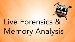SANS DFIR Webcast - Memory Forensics for Incident Response - PakVim