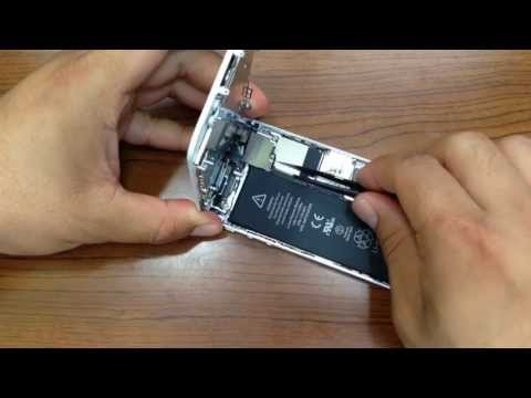 iPhone 5, How to Replace the Home Button Key
