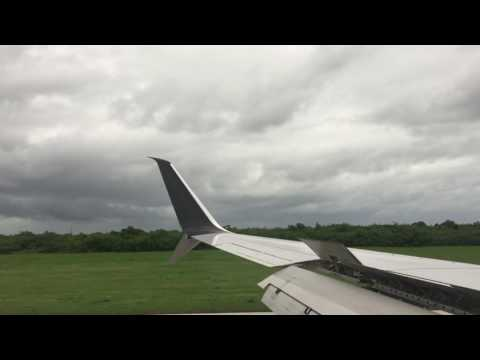 Landing in Punta Cana International Airport